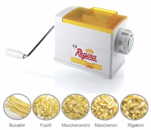 Машинка для домашней лапши Marcato Regina, пресс с 5 насадками, фото