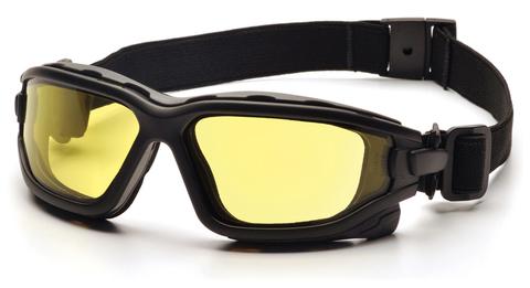 Очки баллистические тактические Pyramex I-Force Slim VGSB7030SDNT Anti-fog желтые 89%