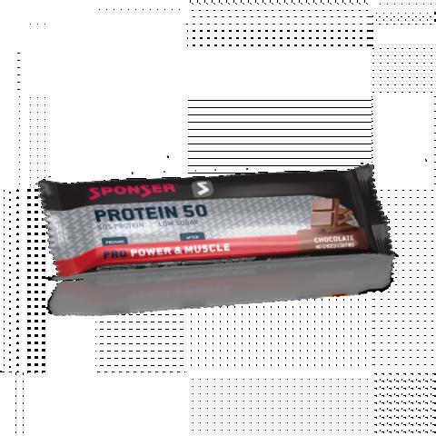 NEW! Sponser Протеин 50 Бар (20х70 г.) - Шоколад