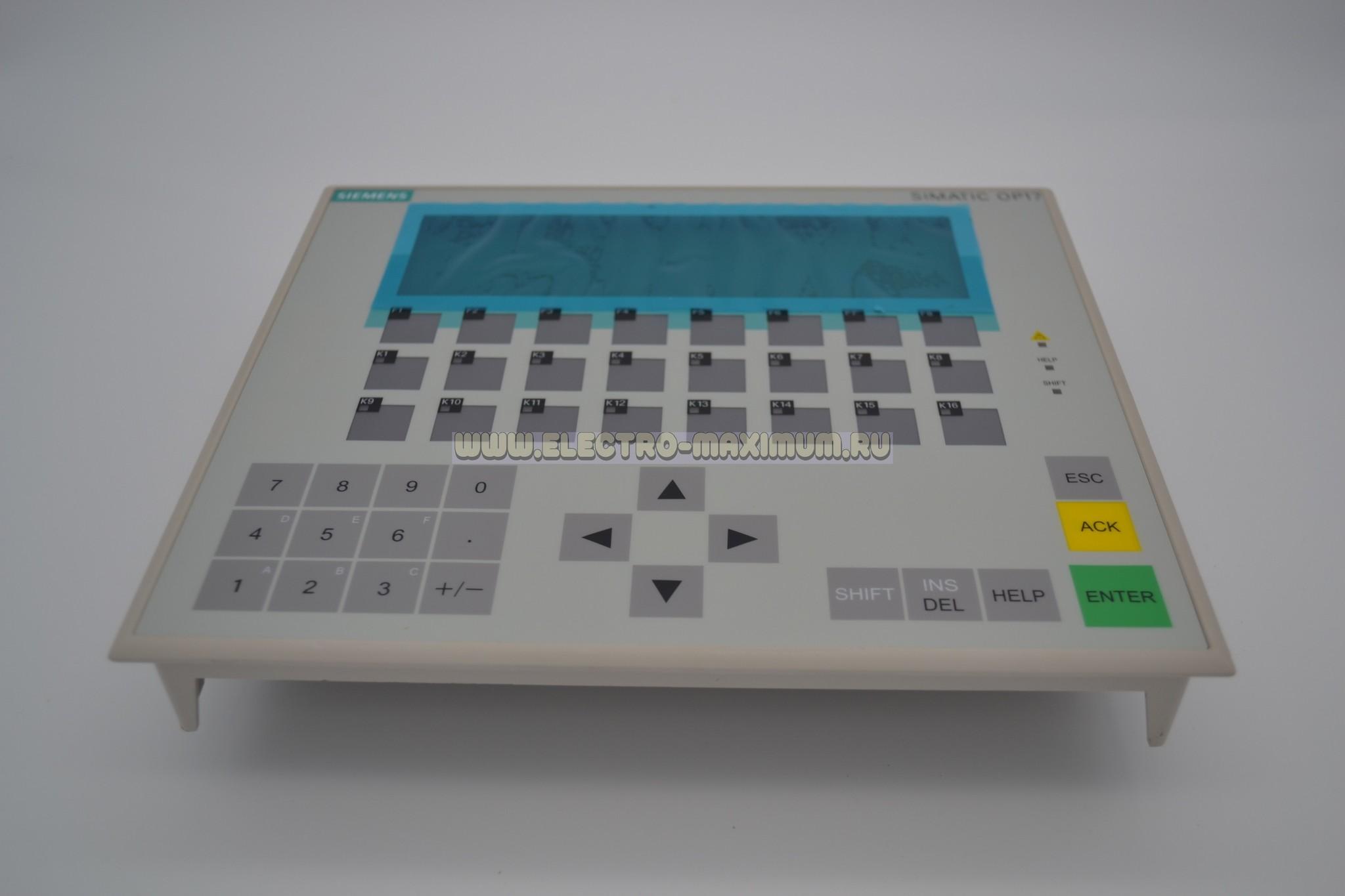 6AV3 617-1JC00-0AX1 SIEMENS SIMATIC OP17/PP