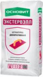 ОСНОВИТ ЭКСТЕРВЭЛЛ ШУБА OS-2.0 GS СЕРАЯ Штукатурка декоративная 2,0мм 25кг