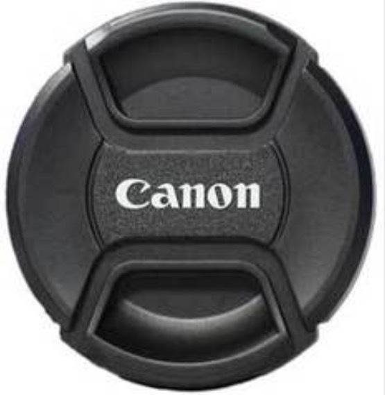 Крышка для объективов для Canon с надписью Canon 77мм (как оригинал)