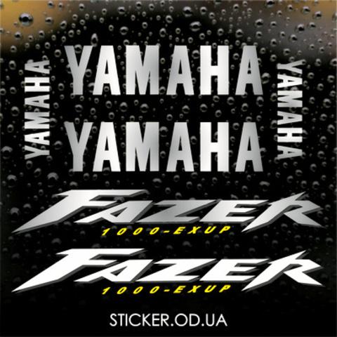 Набор виниловых наклеек на мотоцикл YAMAHA