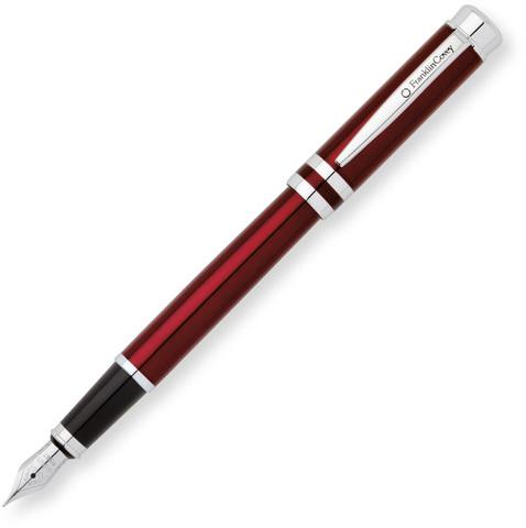 FranklinCovey Freemont - Red Chrome, перьевая ручка, M, BL