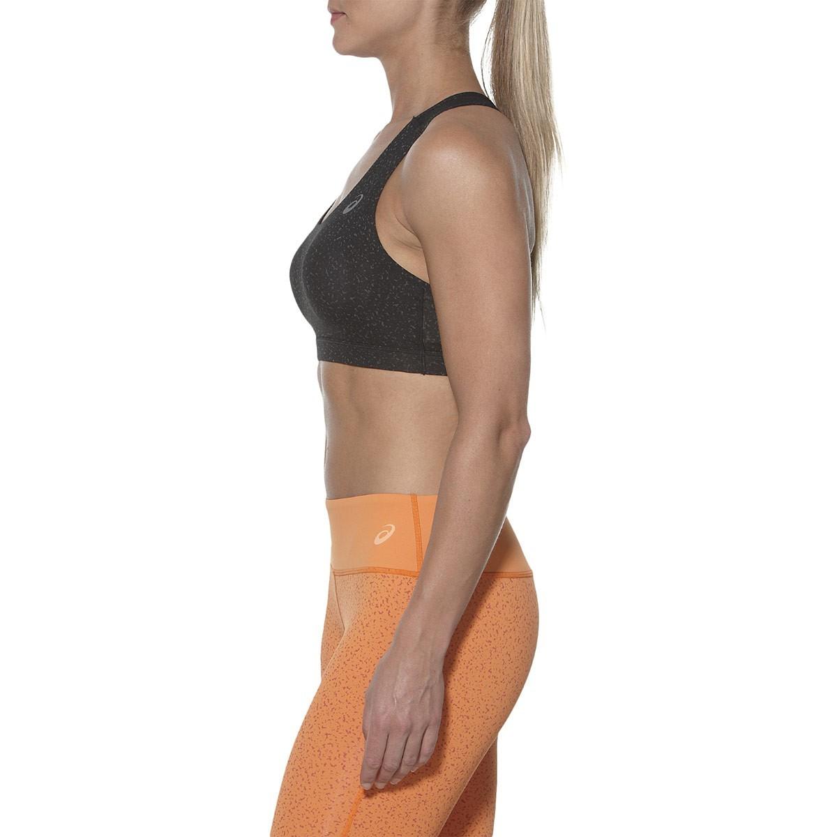 Женский спортивный топ  для фитнеса Asics Racerback Bra Top (130465 0558) черный фото