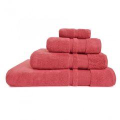 Полотенце 70х140 Hamam Pera розовое