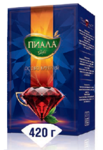 Чай Пиала 420 гр. Особо крепкий (кор 28)