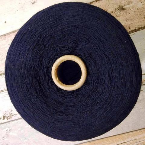 Смесовка с кашемиром (10%) SANFILO 1/15 темно-синий