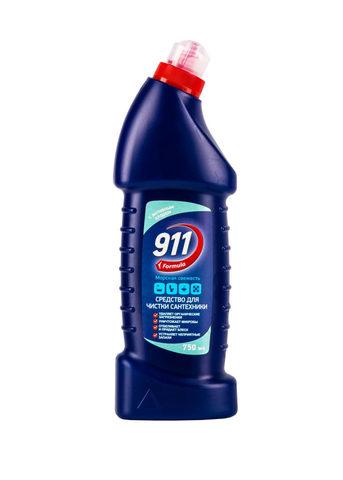 Sellwin Pro  911 Formula Средство для чистки сантехники с активным хлором Морская свежесть 750мл