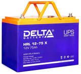 Аккумулятор Delta HRL 12-75 Х ( 12V 75  Ah / 12В 75  Ач ) - фотография