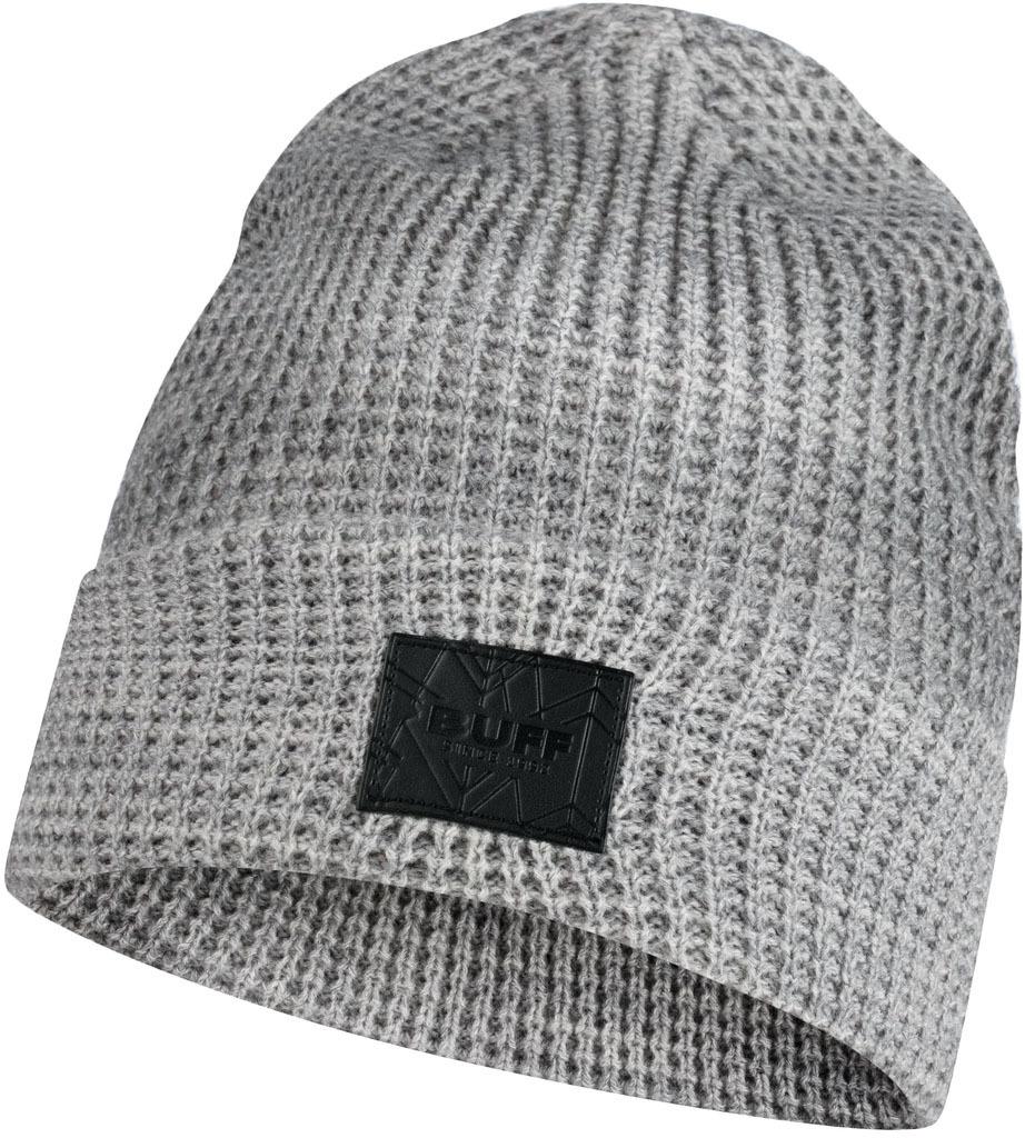 Шапки с отворотом Вязаная шапка Buff Hat Knitted Kirill Pebble Grey 120843.301.10.00.jpg