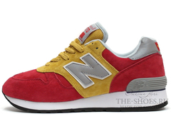 Кроссовки Мужские New Balance 670 Red Yellow