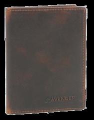 Портмоне WENGER Rautispitz, цвет коричневый, 9*1*12 см (W7-08BROWN)