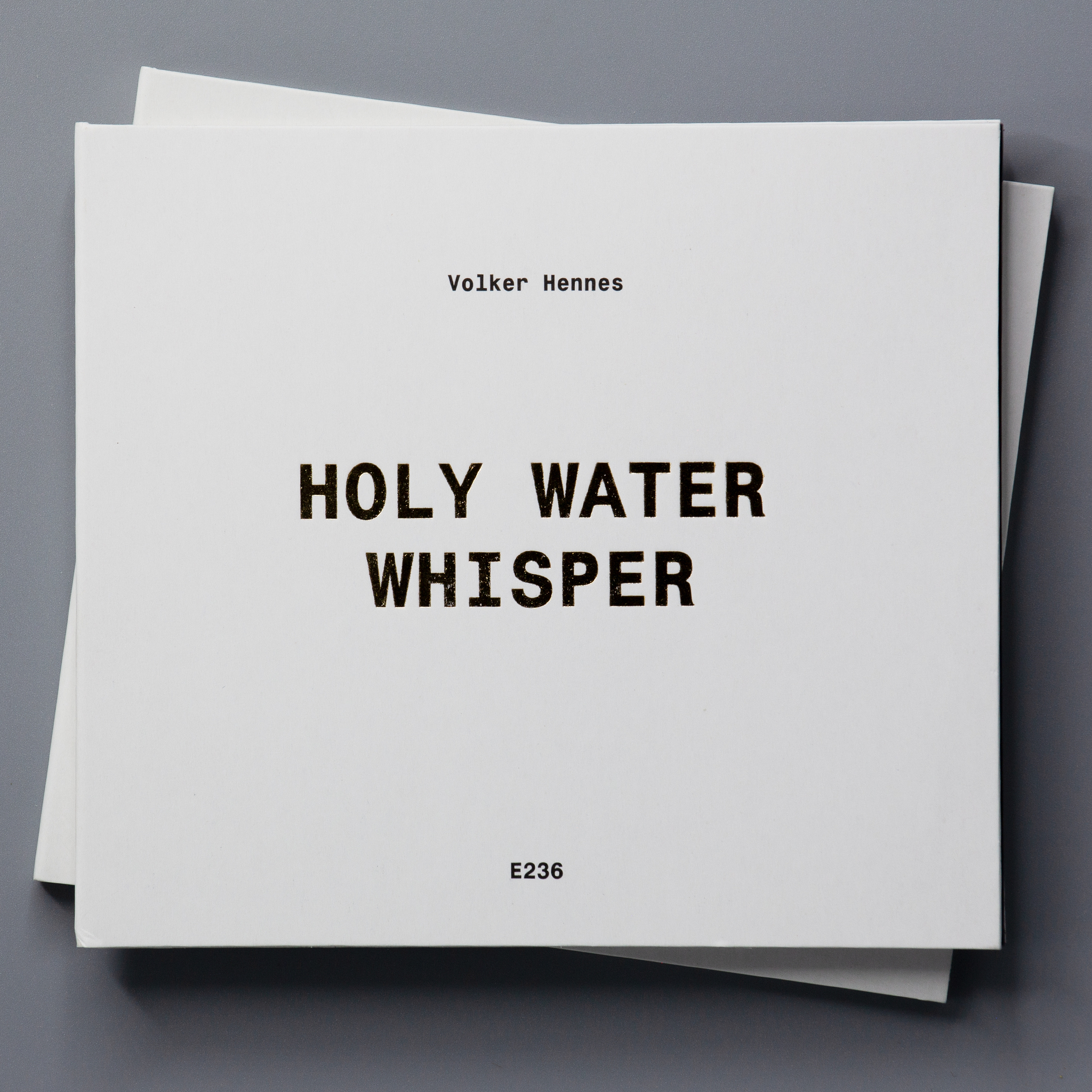Holy Water Whisper