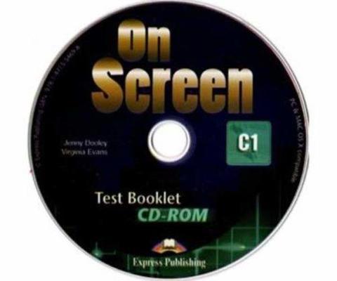 On screen C1 Test Booklet CD-ROM — Диск с тестовыми материалами