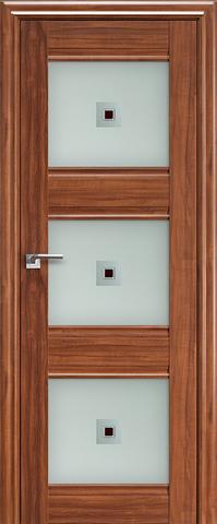 Дверь Profil Doors №4Х-Классика, стекло узор, цвет орех амари, остекленная