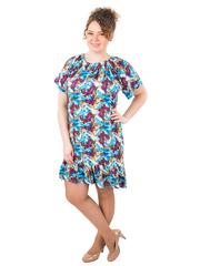 B1227-17-3 платье женское, голубое