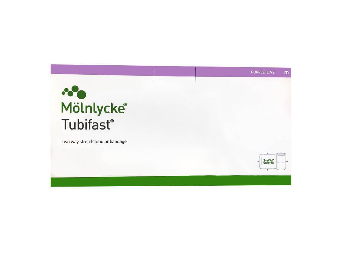 Тубифаст (Tubifast) фиолетовая линия 20см х 10м, 2шт в наборе