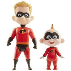 Кукла Шастик с Малышом Джек-Джек (Dash & Jack-Jack) Суперсемейка 2 - Incredibles 2, Jakks Pacific