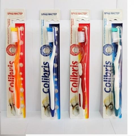 Colibris Зубная щетка средняя жесткость 0913