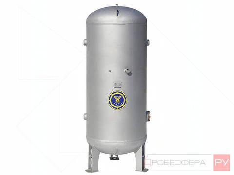 Ресивер для компрессора РВ 500/10Ц оцинкованный вертикальный
