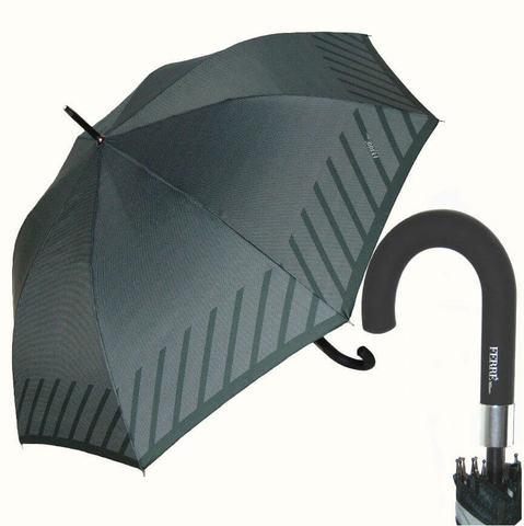 Большой серый мужской зонт купить в магазине