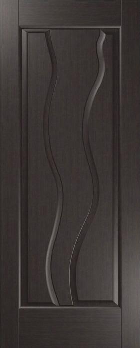 Дверь межкомнатная,Россич,Комета-Н, ДГ, Цвета: Черный дуб