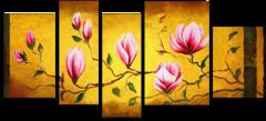 """Модульная картина """"Цветущая ветвь"""""""
