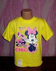 Стильная детская футболка Минимаус