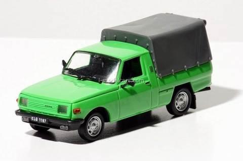 Wartburg 353 Trans green 1:43 DeAgostini Kultowe Auta PRL-u #59