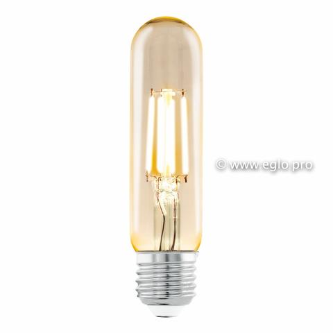 Лампа Eglo филаментная янтарь LM LED E27 (DECO ITEMS) T32 2200K 11554