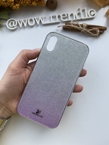 Чехол iPhone 11 Swarovski Case /purple/
