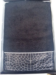 Набор полотенец 2 шт Cesare Paciotti Pave Ricamato коричневый