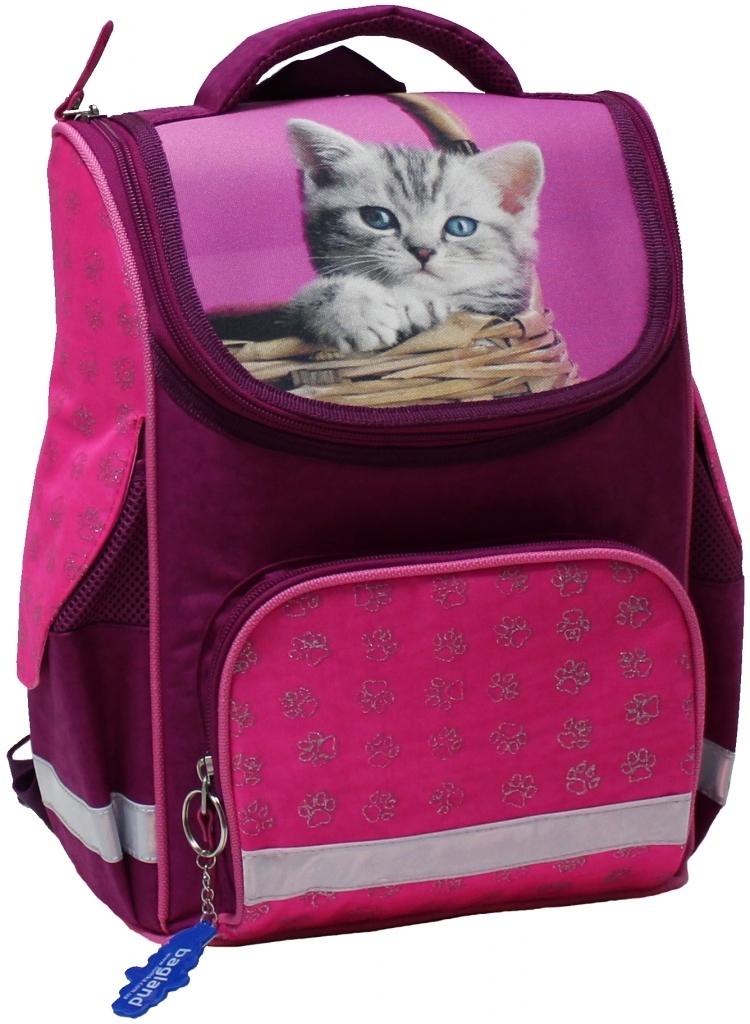 Школьные рюкзаки Рюкзак школьный каркасный Bagland Успех 12 л. Малина (котенок в корзинке) (00551702) d2a10b0bd670e442b1d3caa3fbf9e695.JPG