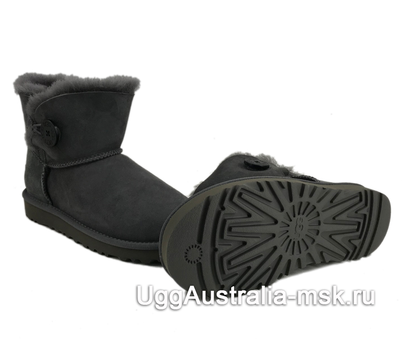 UGG Bailey Button II Mini Grey