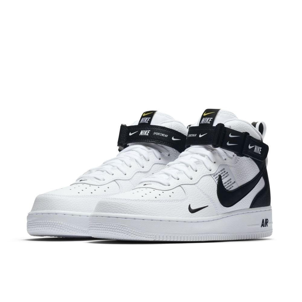Nike Air Force 1 '07 Mid Utility High White/Black (067)