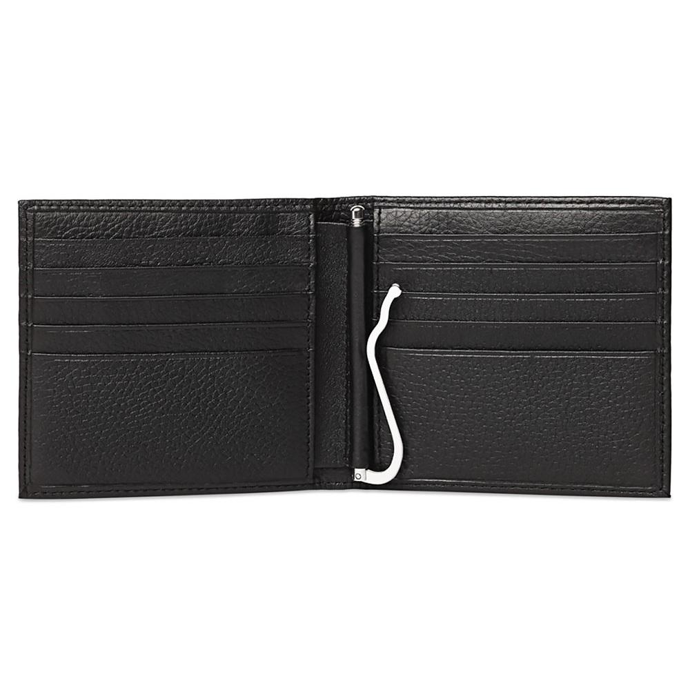 Кошелек Piquadro Modus, цвет черный, 10,2x9,4x1,5 см (PU1666/MO)