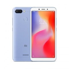 Смартфон Xiaomi Redmi 6 3GB/32GB  Blue (Голубой)