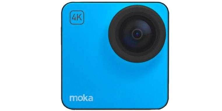 Экшн-камера Mokacam 4K синяя
