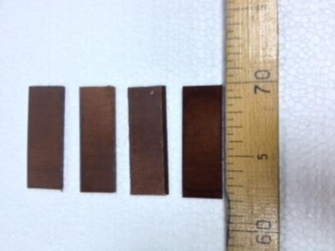 Комплект лопаток к вакуумному насосу НВ-12.