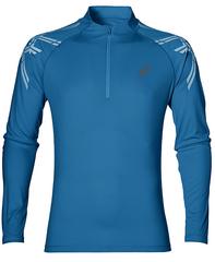 Рубашка беговая Asics Stripe 1/2 Zip Blue мужская