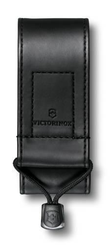 Чехол из искусственной кожи Victorinox, черный, для Swiss Officers Knife 91 и 93 мм толщиной 2-4 уро