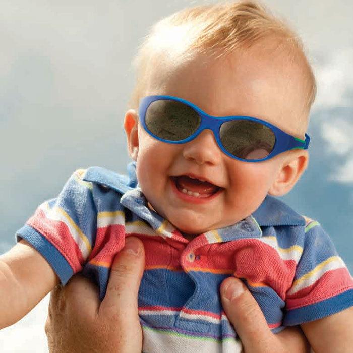701bed37a822 Солнечные очки для малышей Real Kids 0+ (с дужками гибкие) розовый бирюза