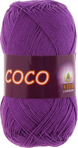 Пряжа Vita Coco лиловый 3888