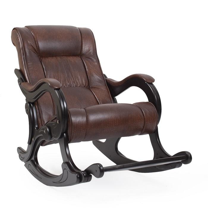Классические Кресло-качалка Модель 77 Экокожа komfort_model77_AntCrocodile_venge__1_.jpg