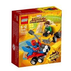 Super Heroes Mighty Micros. Scarlet Spider vs. Sandma