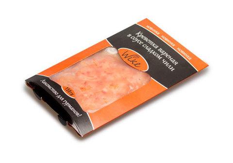 Креветки очищенные в сладком соусе чили