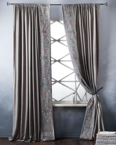 Комплект штор Дебби серый