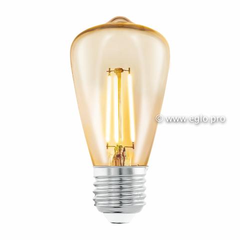 Лампа Eglo филаментная янтарь LM LED E27 (DECO ITEMS) ST48 2200K 11553