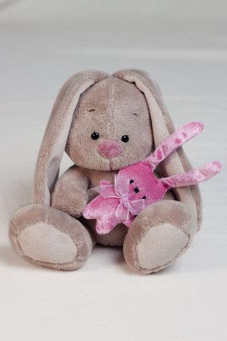 Зайка Ми с розовым зайкой (малыш)